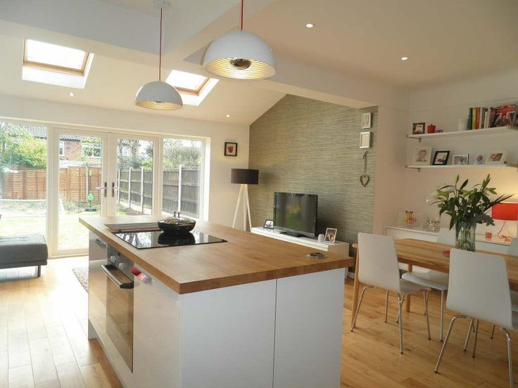 Image Result For 3 Bed Semi Kitchen Extension House Pinterest