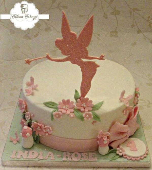 Tinkerbell Birthday Cake Topper