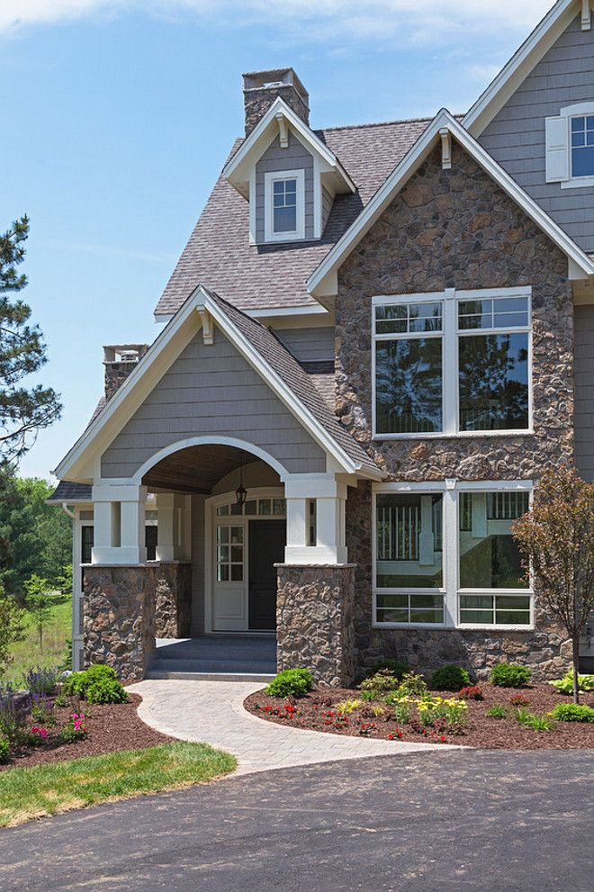 Family Home Interior IdeasThe Exterior Of This Home Features Gray