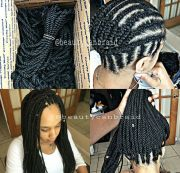 crocheted senegalese twist twists