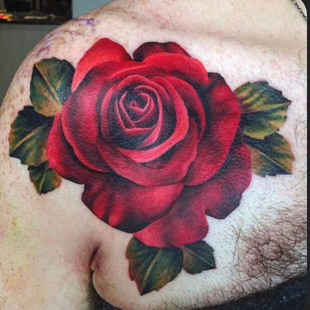 Red Rose Tattoo  Tying The Tats Together  Pinterest