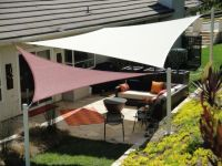Patio Shade Sails Covers | Dennis's garden | Pinterest ...