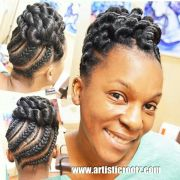 updo.natural hair. learn