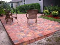 30+ Vintage Patio Designs with Bricks | Brick pavers ...