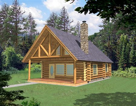 Log Cabin Home Plans And Small Cabin Designs Cottage Exterior