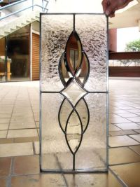 stained cabinet glass inserts for customer | My home ...