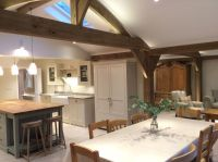 Carpenter Oak extension Oak framed house, open plan living ...