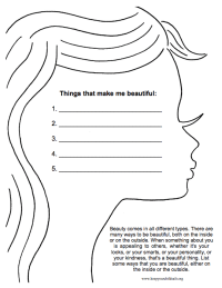 18 Self Esteem Worksheets And Activities For Teens And ...
