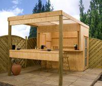 Outdoor bar shed ideas, building design for pergola ...