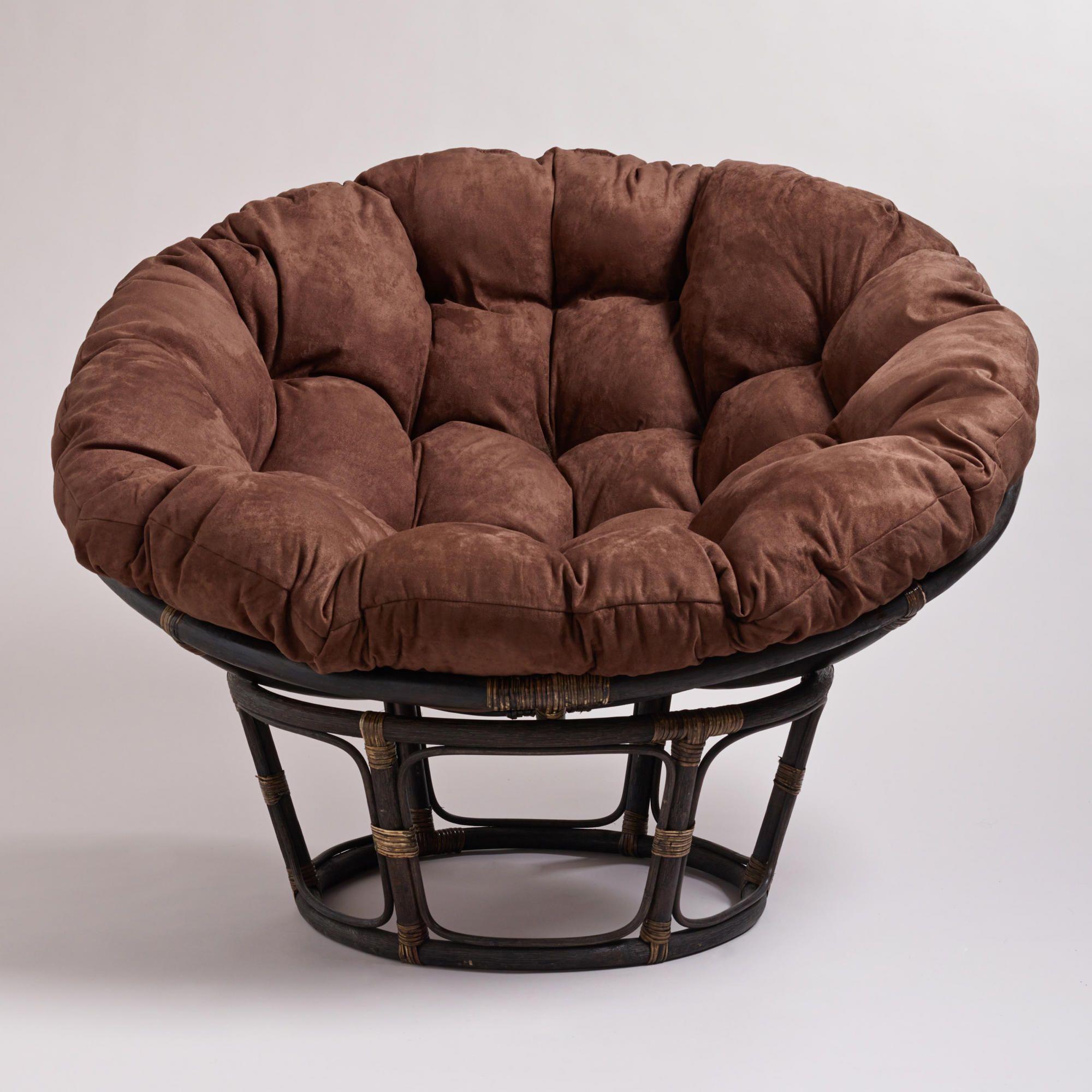 folding papasan chair target bedroom chairs next java microsuede cushion world market