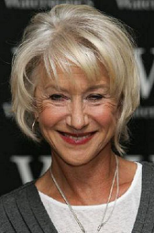 Short Hair Styles For Older Women Short Hairstyles For Older