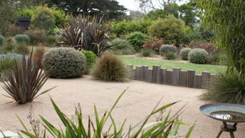 Topiary Garden In Central Victoria Gardens Paver Edging And