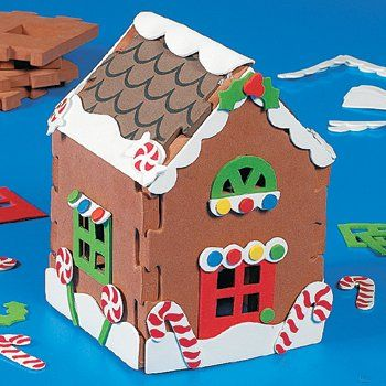 Gingerbread House Craft Kits Craft Ideas Pinterest Craft
