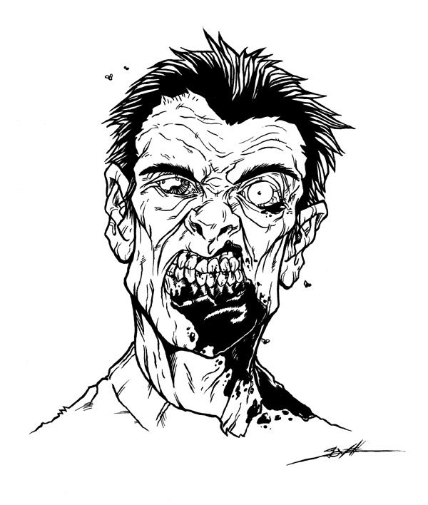 Night of the Living Dead: Zombie Art to Inspire You