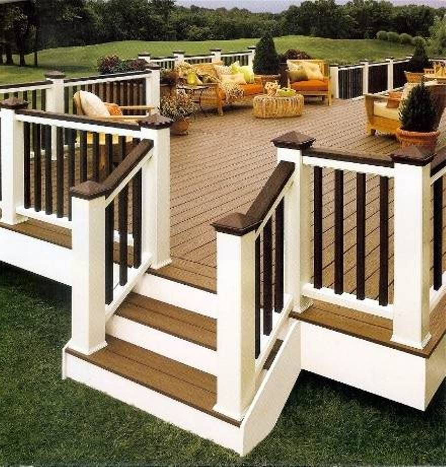 Best 25 Simple deck ideas ideas on Pinterest  Backyard decks Deck and Diy deck