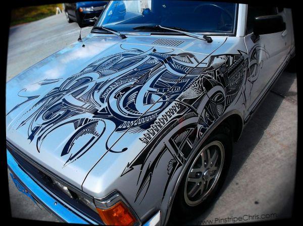 Car Sharpie Pinstripe Chris