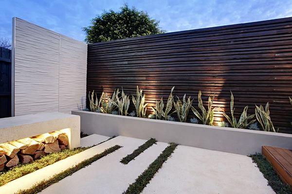Modern Garden Walls Google Search Terrazzo Pinterest