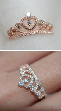 Engagement Rings 2017  Princess crown ring Engagement ...