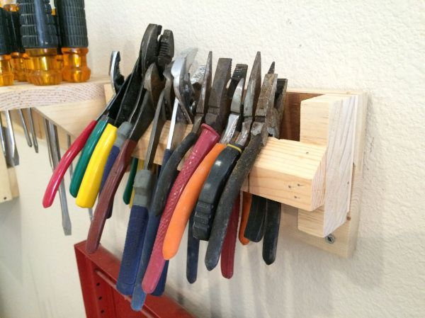 French Cleat Plier Rack Bellman Woodworking And Design