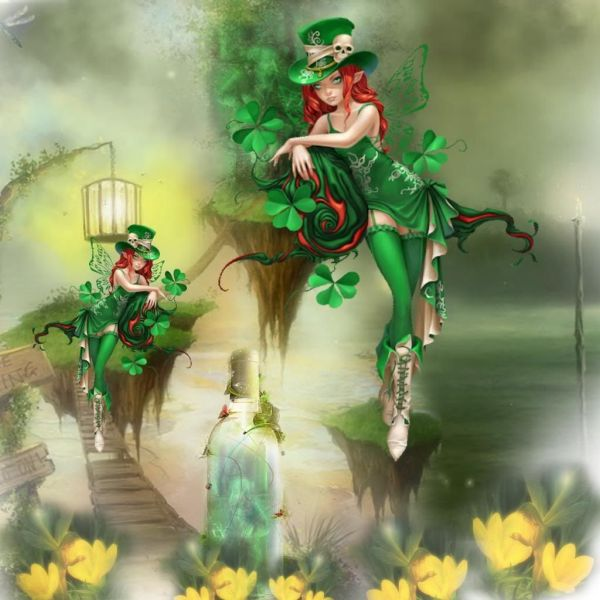 Irish Fairies Fairy' Angels & Fantasy