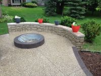Image result for exposed aggregate patio images ...