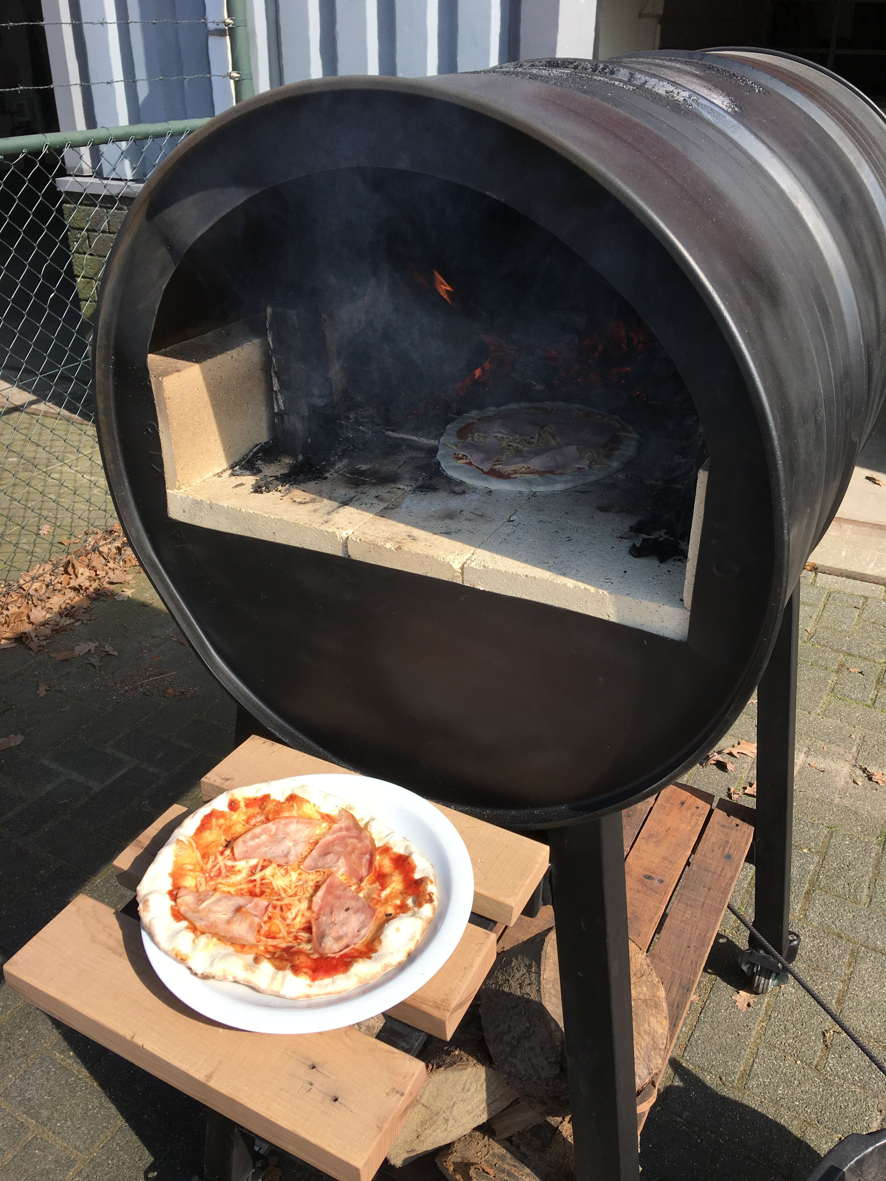 Pizza Oven Stove Rocket