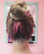 female undercut hairstyle design