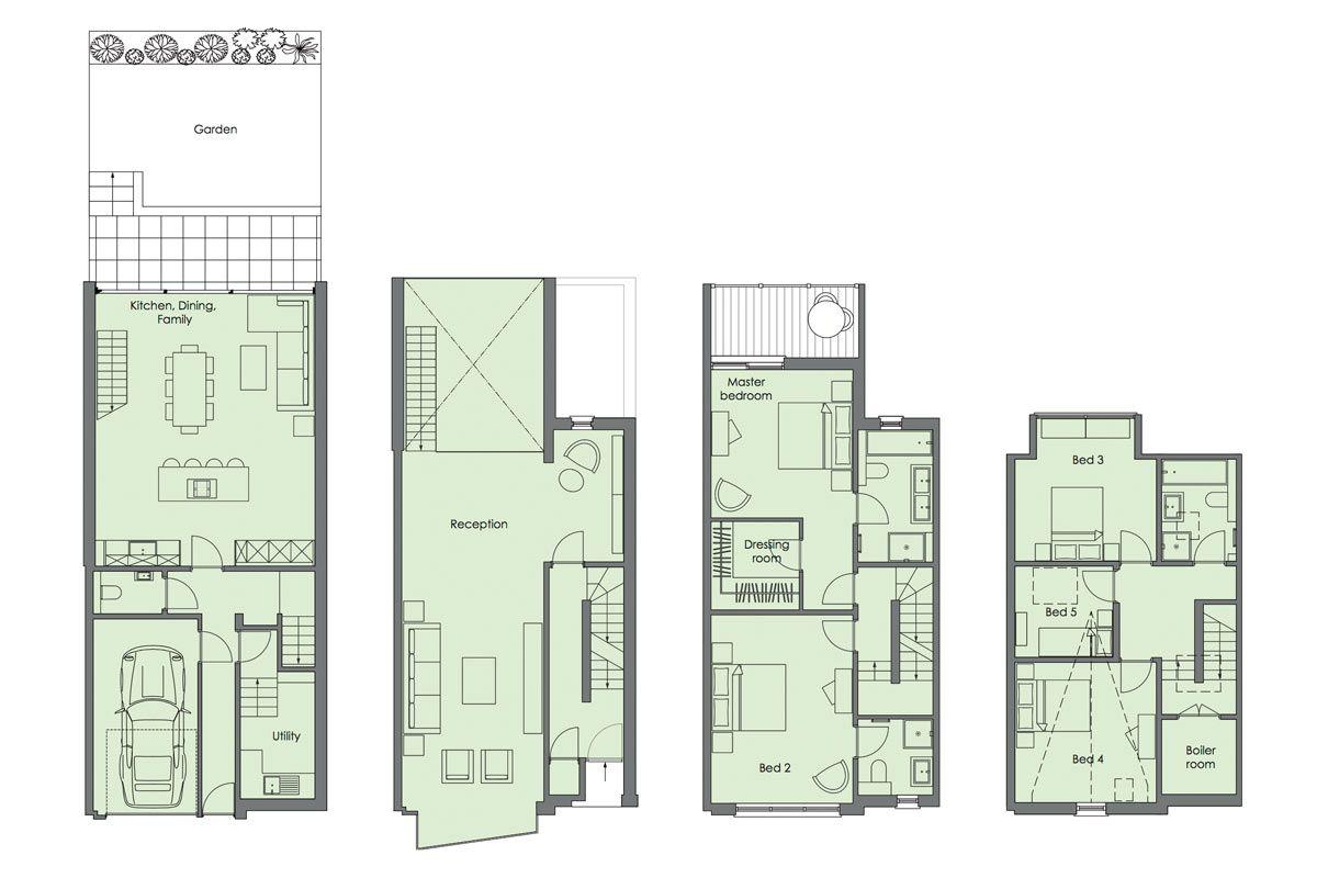 Modern Townhouse Design Modern House