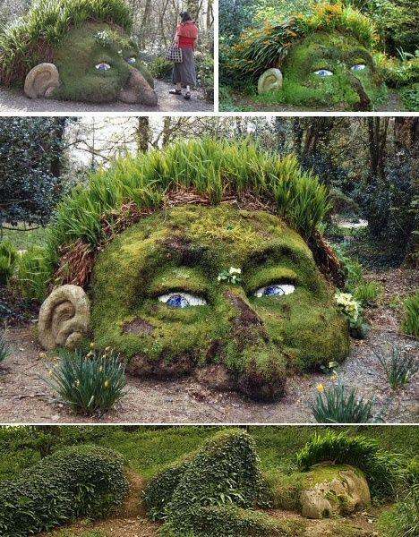 Cool Garden Ideas Randomness Pinterest Gardens