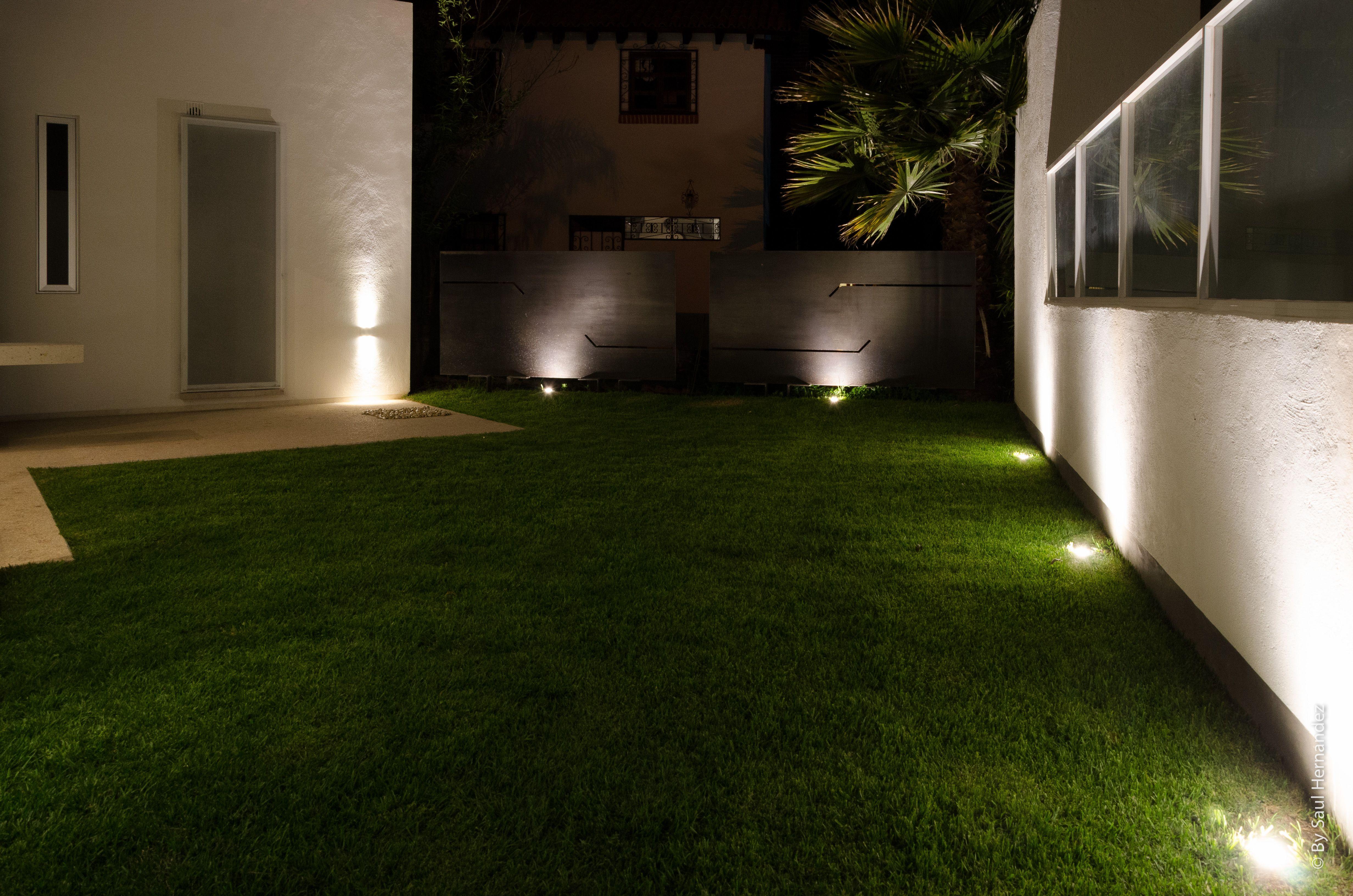 Iluminacion Led Exterior Jardin  Decoracion Del Hogar
