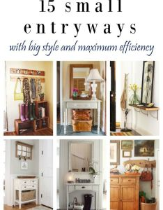 fresh ideas for small entryways apartment entrywaysmall also organizations rh pinterest