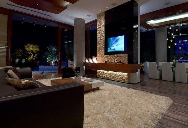 Contemporary Bachelor Pad Ideas Elegant Living Room Design Modern