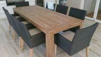Dining Room Diy Outdoor Dining Table Home Design Photos ...