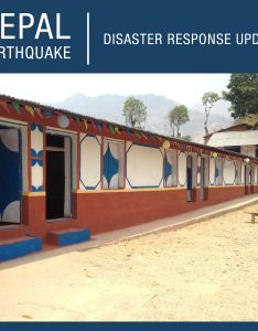 Since last year   devastating earthquake in nepal our partners have completed work on  building that will serve as health clinic and teaching also rh fi pinterest
