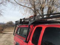lumber rack on topper   trucks   Pinterest   Lumber rack ...