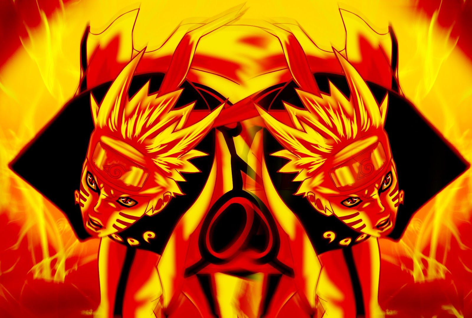 download naruto bijuu mode pictures gambar wallpaper 1600x1078