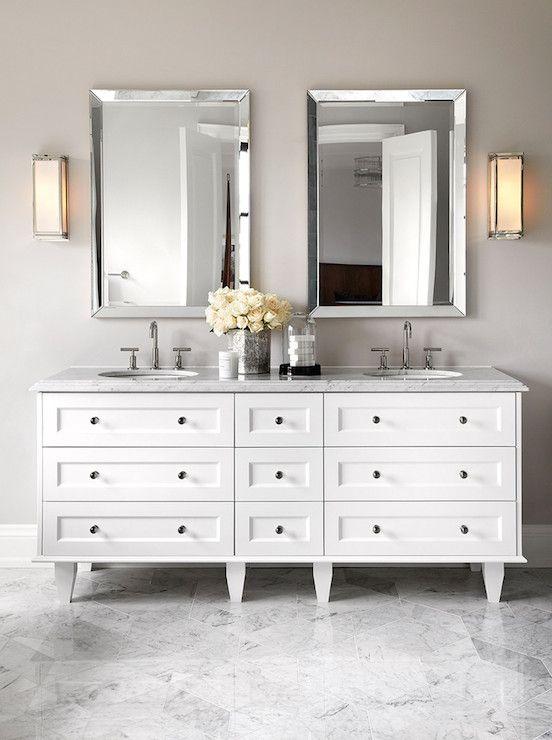 The Design Company  bathrooms  white and gray bath