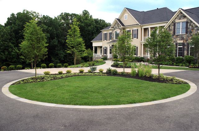 Front Driveway Ideas  Contemporary Landscape Design With