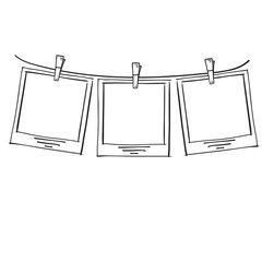 Afbeeldingsresultaat voor doodle polaroid picture