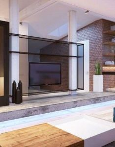 bedroom flat in kiev with sleek contemporary features exposed brick design also rh pinterest