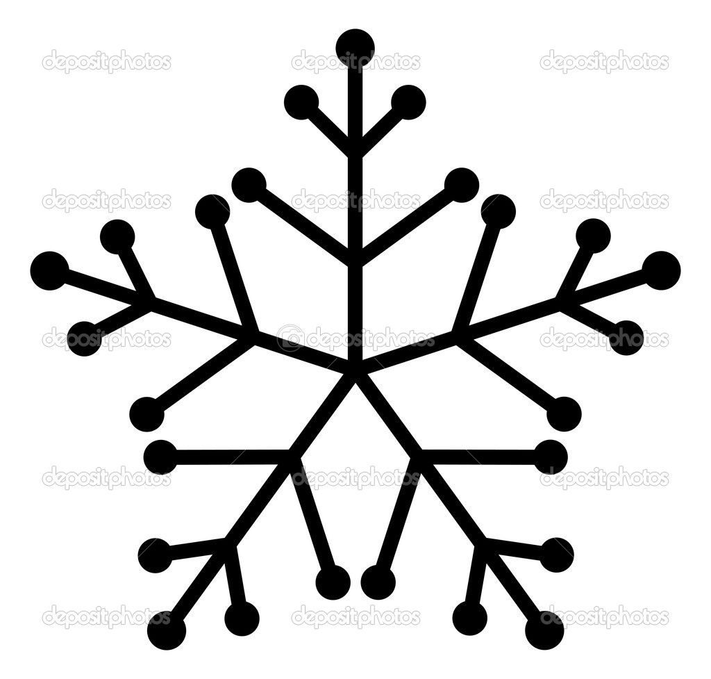 How To Draw A Snowflake