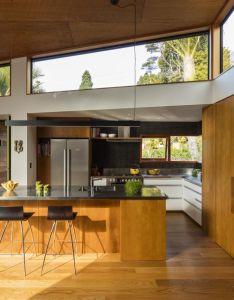 variety of wood species feature in this new home and kitchen kitchendesign magazineinterior also rh uk pinterest