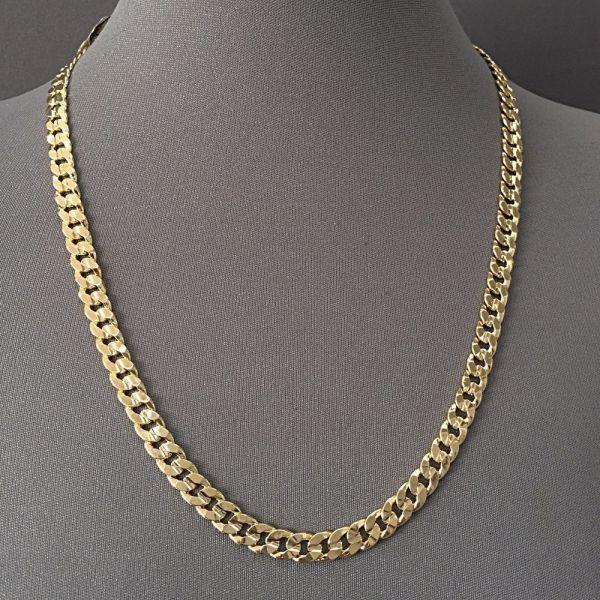 14K Gold Necklace Chains Men