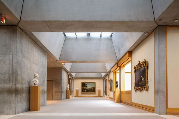 Yale Center British Art - Louis Kahn And Architecture