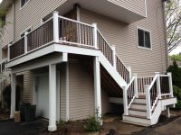 Stairs, landing, railings & second story deck replaced for ...