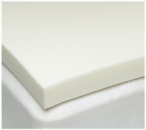 Twin Size 3 Inch Isocore 0 Memory Foam Mattress Pad Bed Topper Overlay Made