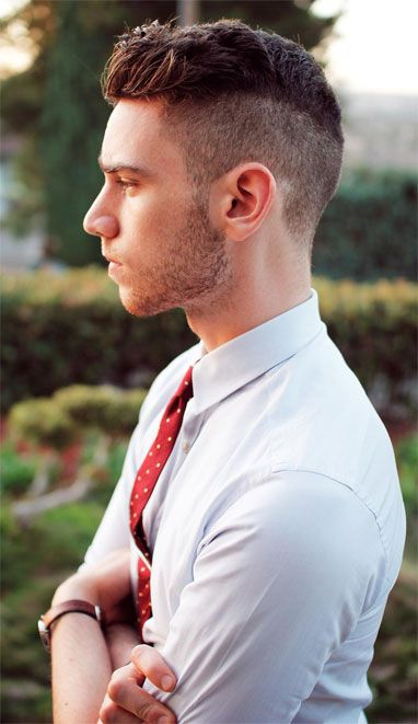 Mens Hairstyles 2014 Short Back And Sides Long On Top Hair Short