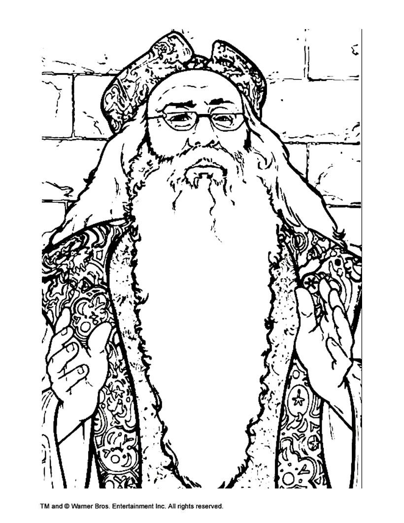 Harry Potter Free Online Coloring Pages Artwork And Drawings