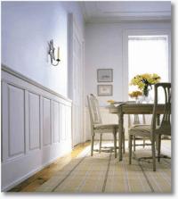 wood half wall paneling | wall panels | Pinterest | Half ...