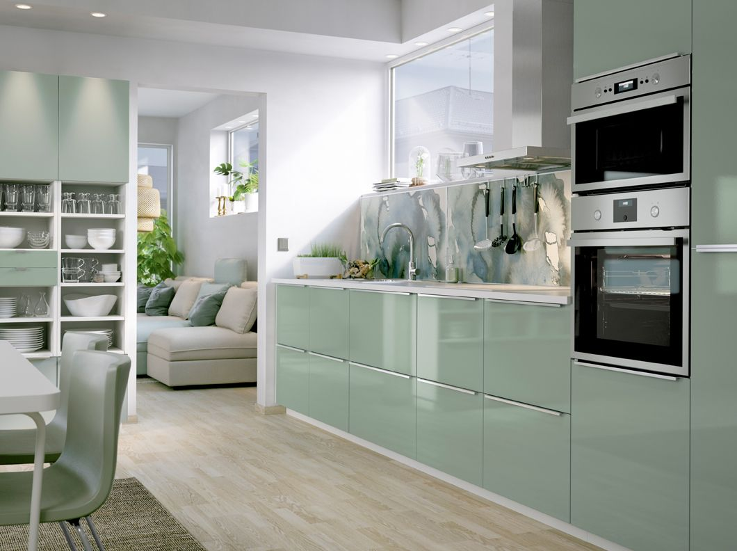 green kitchen cabinet doors stores a medium size with light high gloss
